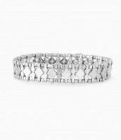 Arrison Stretch Bracelet Silver
