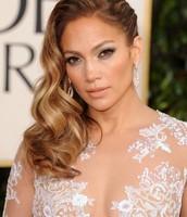 Jennifer Lopez á Golden glope hátíðinni.