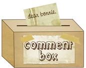 Digital Comment Box - NEW!