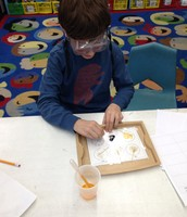 Will using iodine to test our chemicals