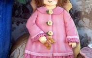 Patri se va de paseo con su abriguito rosa