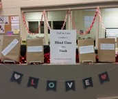 Students went on blind dates with books!