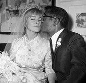 Sammy Davis and May Brit