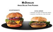 Dont fall for fast food advertising!