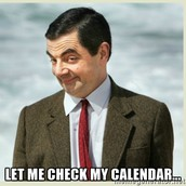 What's on the Calendar