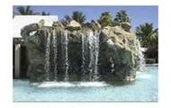 Play under the water fall (slash splash)!!!!!