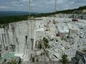 Granite Quarry in New Hampshire