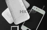 Kompletné kryty iPhone 3G a 3GS -čierne aj biele