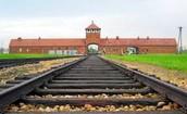 Auschwitz 2 entrance