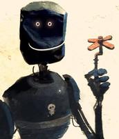 La pobre máquina tan solo maldecía a su creador, era humano, y esto la imposibilitaba desde su diseño para otras cosas