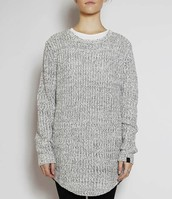 RUSTY MELTED KNIT