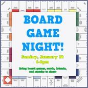 Board Game Night at YG