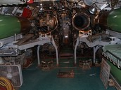 Inside of a Submarine
