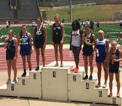 Gracie Hunt Placed 5th in the 400 Meter Race
