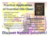 Practical Application of Essential Oil Classes!
