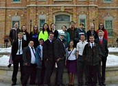 My Church group at the Provo Temple