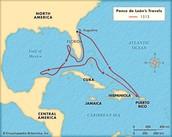 Juan Ponce De Leon Trade Route
