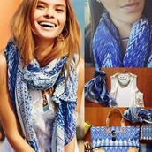 Capri wrap- indigo ikat- perfect for those cruises and hot weather trips this winter! Was $64, now $25!