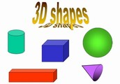 TYPES OF 3-D SHAPES