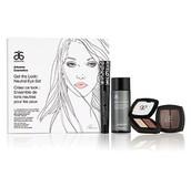 Neutral Eye Set - shadow, mascara, gentle makeup remover