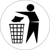 Take it.Walk it.Bin it