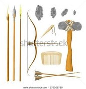 Some of the tools that early humans used