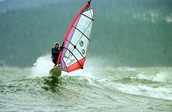 Who made the first Wind Surfing board?