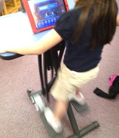 We use our iPads for pleasure reading while we exercise!