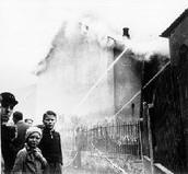 Children were put on the streets