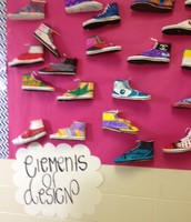 Shoes our FACS class made