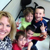 Lunch & Game with 2nd Graders