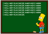 RULE NUMBER SIX: Plagiarism