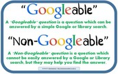 Googeable and Non-Googleable