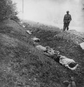 Execution of Polish POW's