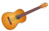 A mi no me gusto tocar la guitarra
