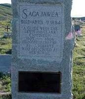 Sacagawea Gravesite