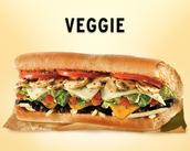 The Veggie Sub