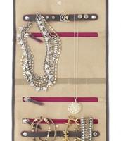 Microsuede inside keeps jewelry scratch-free.