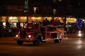 Parade of Lights is Thursday, 12/3