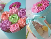 Spring Vanilla Cupcake Surprise