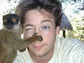 luke with lemur