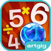Marble Math: Multiplication and Division