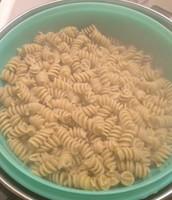 Draining the Pasta