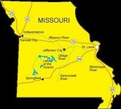 Missouri's map
