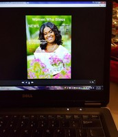 Sneak preview of the Women Who Bless magazine.