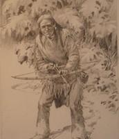 Ojibwe Man Hunting