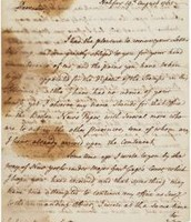 Colonists Letter