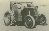 One of the first Tractors made by John Deere