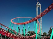 GIANT COOL ROLLER COASTER!