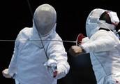 Sabre fencing